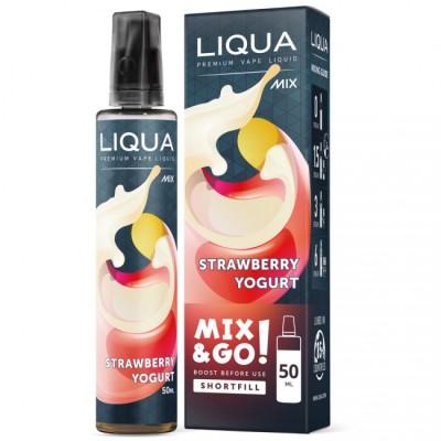 Liqua Strawberry Yogurt 50ml Mix&Go