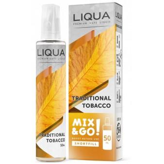 Liqua Traditional Tobacco 50ml Mix&Go