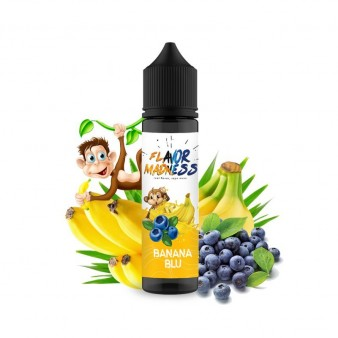 Lichid Flavor Madness Banana Blu 50ml