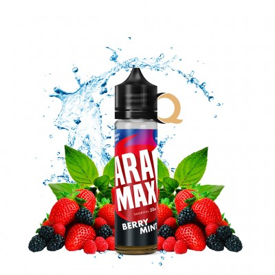Aramax Shortfill 50ml - Berry Mint - Fara nicotina