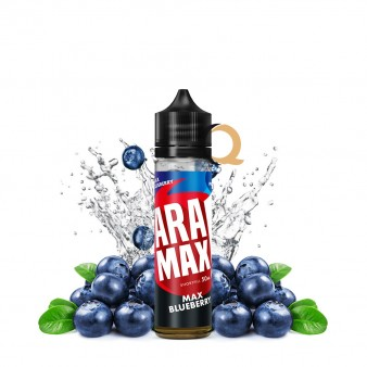 Aramax Shortfill 50ml - Max Blueberry- Fara nicotina