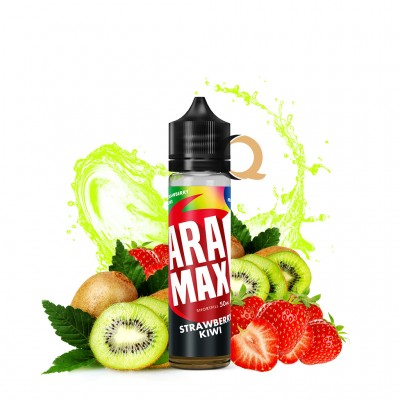 Aramax Shortfill 50ml - Strawberry Kiwi - Fara nicotina