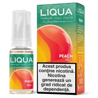 Lichid Liqua Peach 10ml
