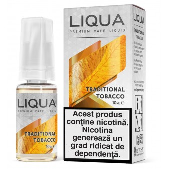 Lichid Liqua Traditional Tobacco 10ml