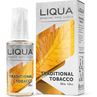 Lichid Liqua Traditional Tobacco 30ml Fara Nicotina